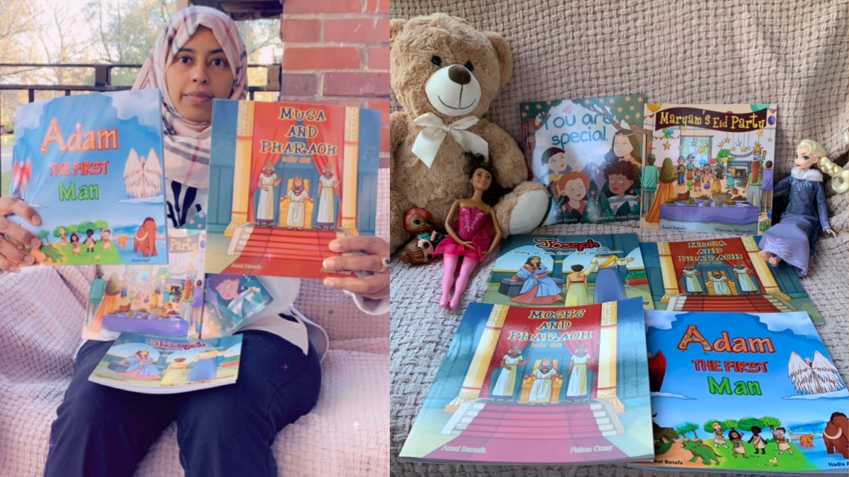 Local author combines her love of storytelling and Islam to fill a void in children's literature